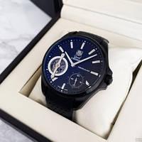 Механические мужские часы Tag Heuer Grand Carrera Pendulum All Black