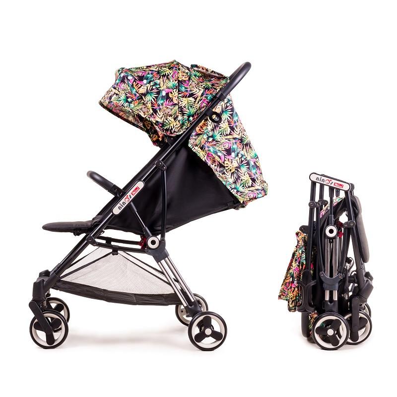 Детская коляска Ninos Mini Pink Jungle 5.8 кг
