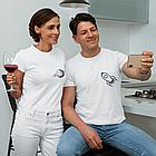 "Парні футболки для закоханих ""Ракета / Планета"", фото 3"
