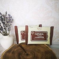 Овсяные очищающие салфетки Calmia Oatmeal Therapy Cleansing Tissue