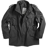 Мужская куртка Alpha Industries M-65 black, фото 1