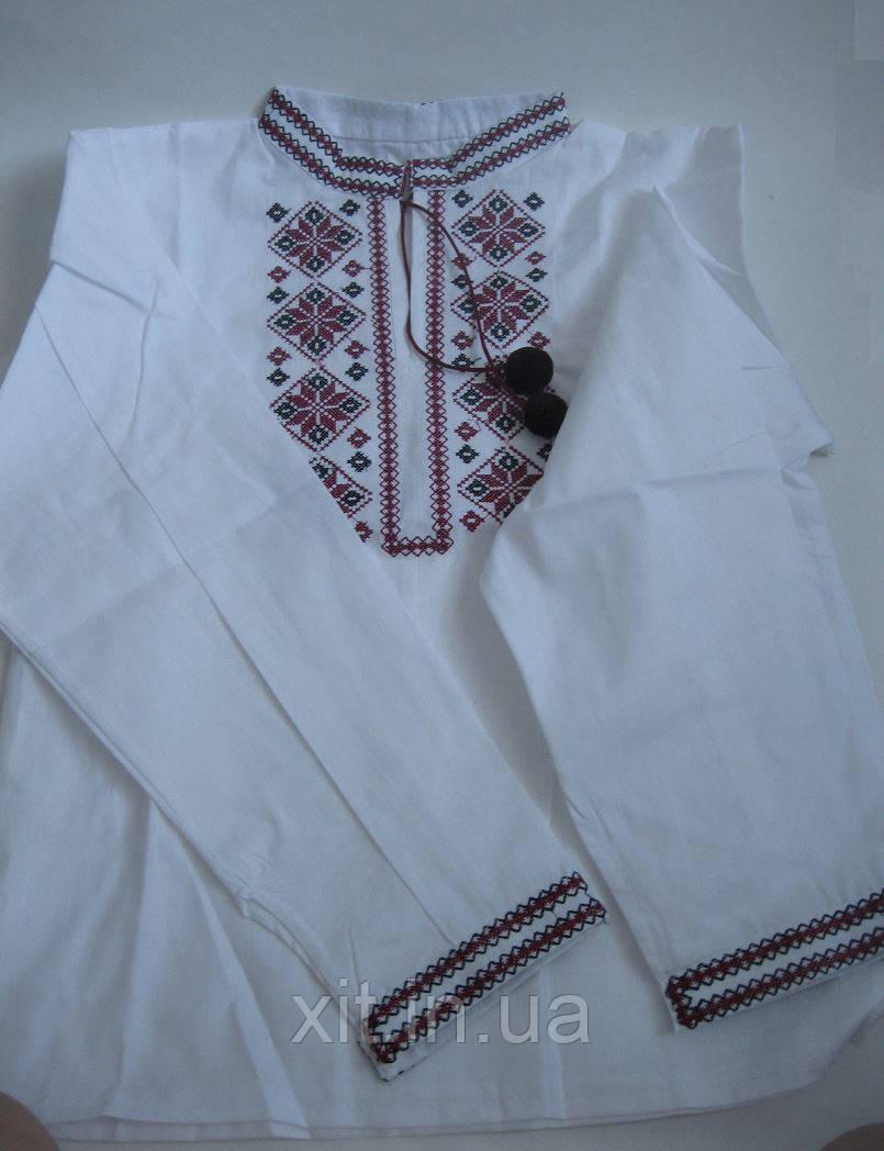 Рубашка вышиванка для подростка, размер 46-52 - ХИТ в Харькове