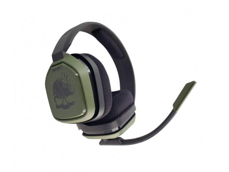 Наушники Logitech Astro A10 Call of Duty Wired Gaming Headset (Green/Black) Витрина