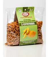 Макароны с куркумой из твердых сортов пшеницы (0,4 кг)