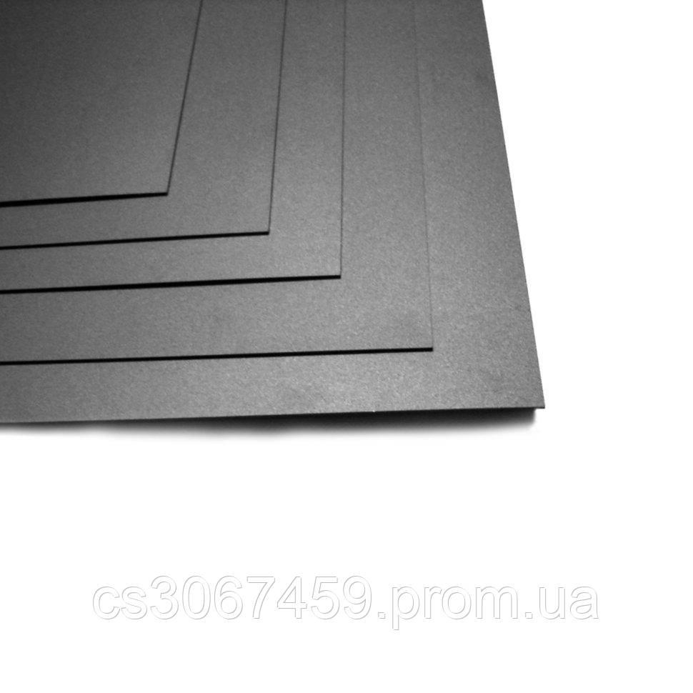 Пленка для рисования алкогольными чернилами (чёрная, матовая, 0,3мм, 1200х800 мм)