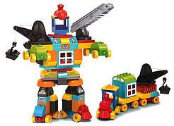 Конструктор JDLT 5352 «Робот трансформер» 132 детали