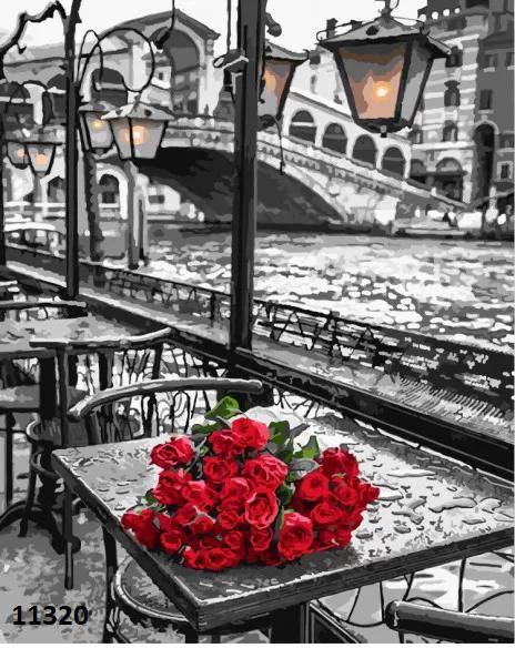 Картина по номерам. «Троянди Венеції» (11320)