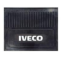 Брызговик для грузовика IVECO простая надпись (470*370 мм)