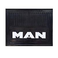 Брызговик для грузовика MAN простая надпись (470 * 370 мм)