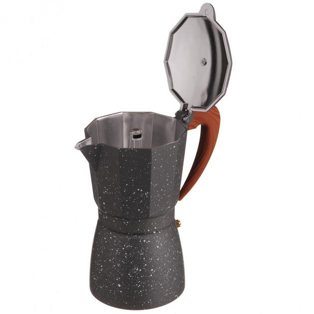 Гейзерная кофеварка A-PLUS на 9 чашки (2086) Мраморная