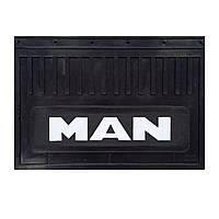 Брызговик для грузовика MAN простая надпись (500*370 мм)