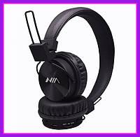 Беспроводные Bluetooth Наушники с MP3 плеером и радио MDR NIA-X2 Черные