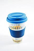 Кофейная кружка to go becher 350ml bambus Googeln, фото 1