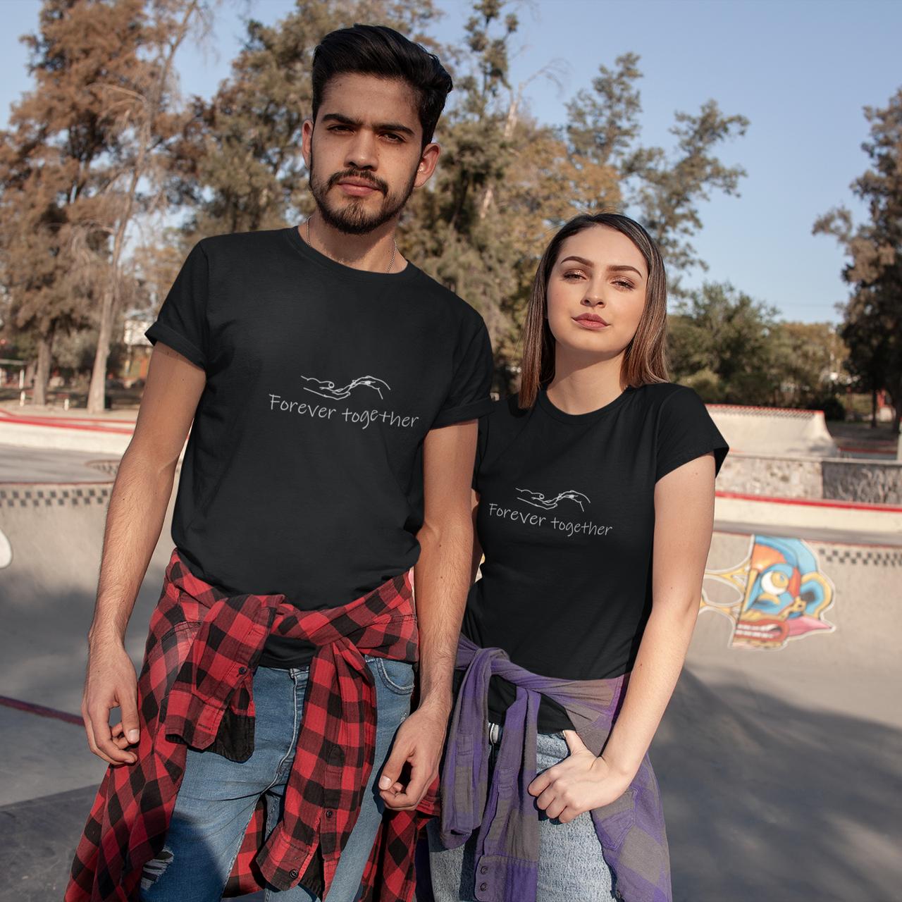 "Парні футболки ""Forever together"""