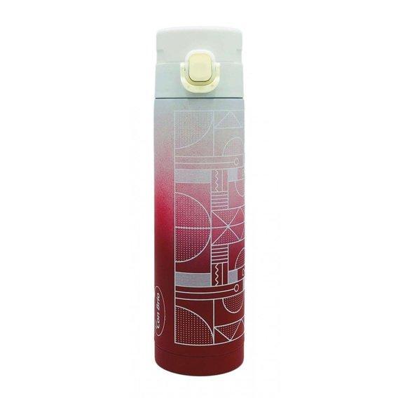 Термокружка Con Brio СВ-390 розовый/белый