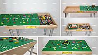 Стіл для роботи з конструктором демонстраційний (трансформер 2 в 1) Art&Play®, фото 2