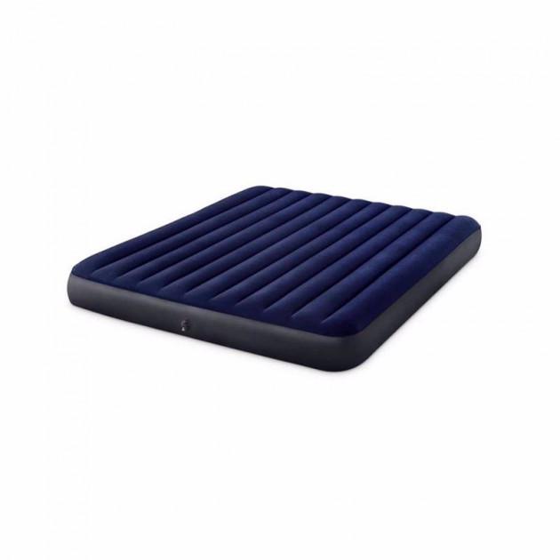 Двуспальный надувной матрас Intex 64755 (183 x 203 x 25 см) Classic Downy Airbed
