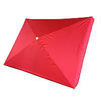 Зонт торговый, пляжный 2 х 3 метра Anty UF металлическая спица, напыление Красный
