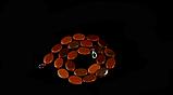 Бусы из коричневого авантюрина, овал, фото 2