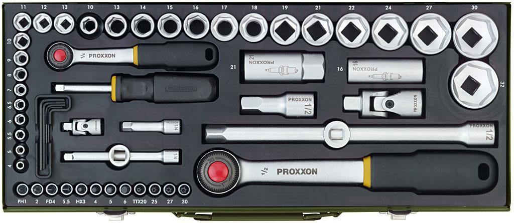 Наборы инструментов Proxxon PRK23040