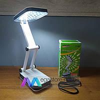 Светодиодная настольная лампа Yiteng беспроводная LED на струбцине для школьника маникюра ребенка на стол