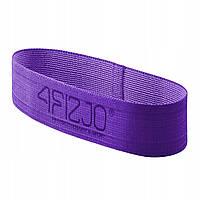 Резинка для фитнеса и спорта тканевая 4FIZJO Flex Band 16-22 кг 4FJ0153 для дома и спортзала