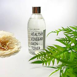 Тонер для обличчя ЯБЛУКО Healthy vinegar skin toner (Apple), 300 мл REALSKIN