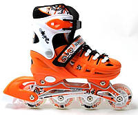 Ролики Scale Sports. Orange, размер 34-37, фото 1