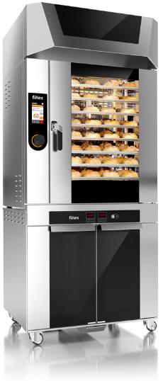 Печь хлебопекарная FINES HTB 10S с расстойкой, вытяжкой