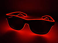 Неоновые очки для вечеринок red