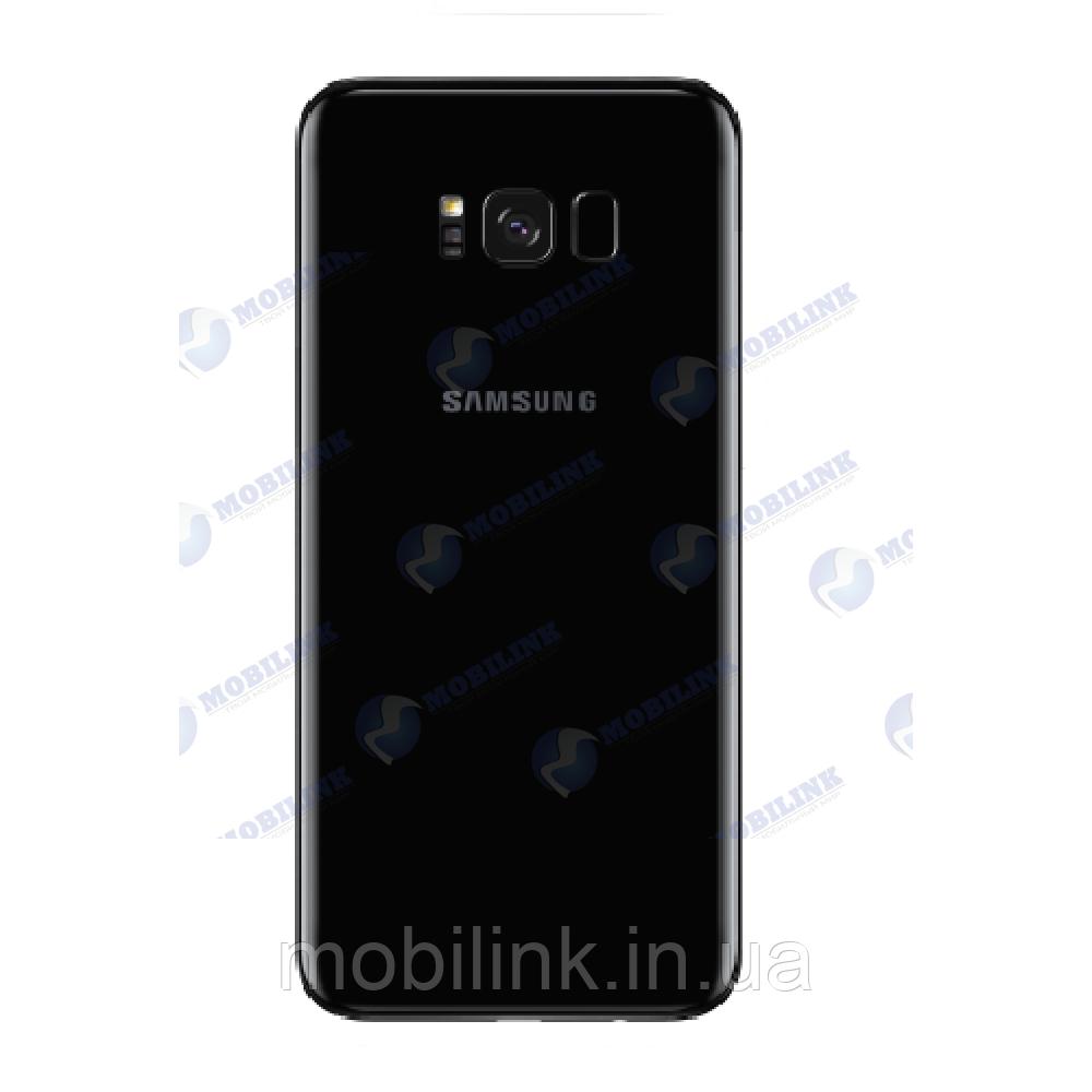 Крышка задняя Samsung SM-G950 Galaxy S8, Чёрная Black оригинал!