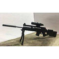 Мініатюра 3D паззл Снайперська Гвинтівка SL8-2