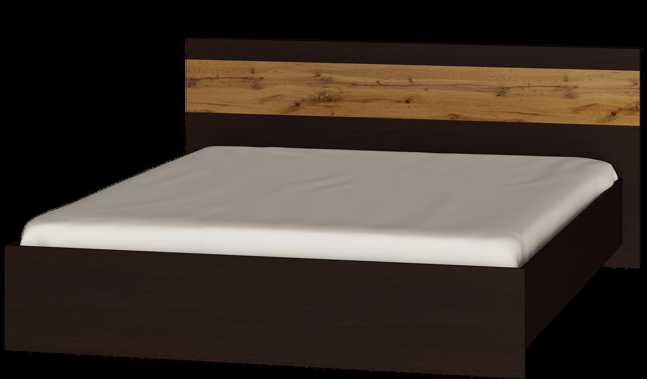 Кровать Соната 1600 Эверест Дуб Аппалачи