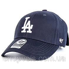 Кепка 47 Brand Los Angeles M510 Бейсболка Темно-Синяя (реплика)