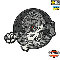 Патч M-Tac Undead Viking 3D PVC Grey