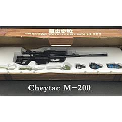 Мініатюра 3D паззл Снайперська Гвинтівка CHEYTAC M 200
