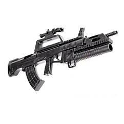 Мініатюра 3D паззл штурмова гвинтівка QBZ-95