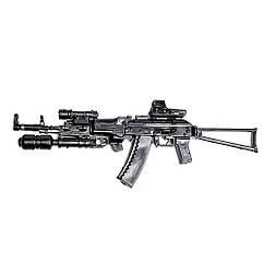 Мініатюра 3D паззл штурмова гвинтівка AK-74C