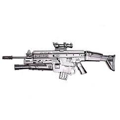 Мініатюра 3D паззл штурмова гвинтівка FN Scar