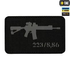 Патч M-Tac AR-15 Laser Cut Black/Grey