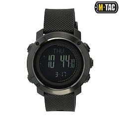 Годинник тактичний багатофункціональний M-TAC Black