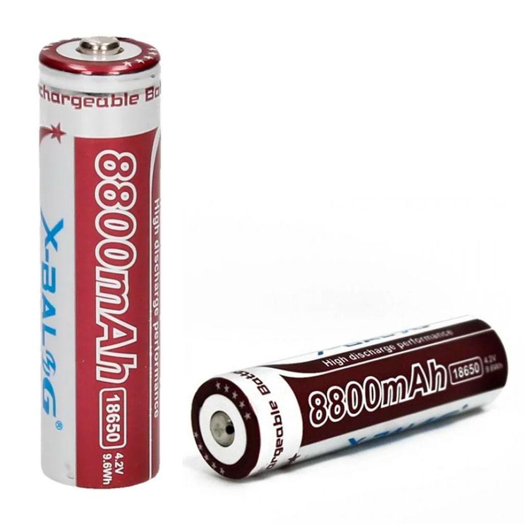 Батарейка BATTERY 18650 PURPLE 8800 мАч
