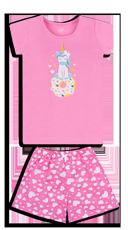 Детская пижама для девочки PGD-20-2 (размер 98, 104, 110, 116)