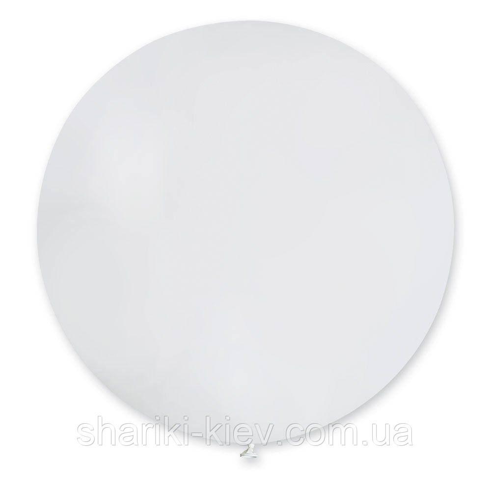 Шар латексный гигант 55 см. с гелием белый