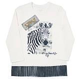 Детская футболка с длинными рукавами для девочки FT-19-08 *Модняшка* (размер 104,110,116), фото 4