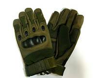 Тактические перчатки GL617 с защитой хаки