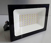 """Прожектор LED светодиодный 50W 6500K IP65 2800LM """"Нептун"""" чёрный/ LMP72-50"""