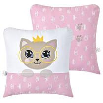 Декоративная подушка Кошечка розовая, фото 2