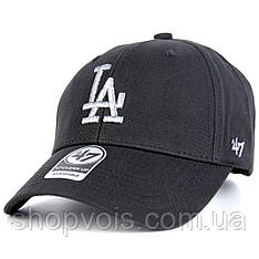 Кепка 47 Brand Los Angeles M511 Бейсболка Черная (реплика)