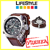 УЦЕНКА! Стильные мужские наручные армейские часы AMST. (536856)